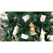Hot sell Hand Blown deer glass Ornament