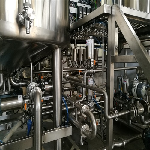 brewhouse pipework
