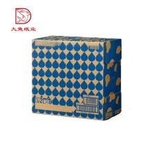 Top quality wholesale Chinese custom logo fashion gift color carton box