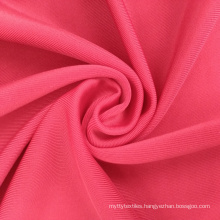 Ship to Mexico tricot 170-220 gsm 4 way stretch semi dull polyester spandex knitted fabric for swimwear dance costumes