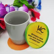 Eco-Friendly Custom Paper Beer Coaster / Cup Coaster