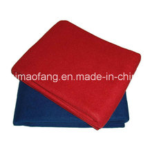 Woven Woolen Fire Retardant/Fireresistant/Fireproof Polyester Blanket