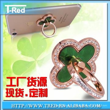 gancho de anillo del sostenedor del anillo de dedo del teléfono móvil para el teléfono
