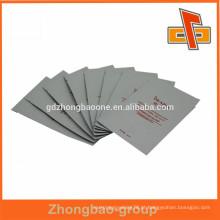 Plastic Matt Varnish Cosméticos de alumínio máscara facial embalagem saco China fabricante