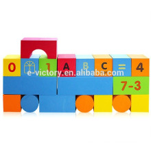 74pcs Soft Block Toy Eva Building Block For Babies