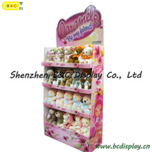 Stuffed Toys Paper Display Shelf, Plush Toy Cardboard Display (B&C-A078)