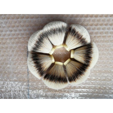 22 / 65mm فان الشكل Silvertip Badger Hair Knot