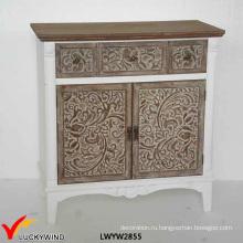 2 двери 2 ящика французской малой руки резные старые консоли мебель