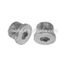 AISI 4130 alloy steel cold forging ball valve parts