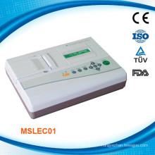 MSLEC01K FDA et machine ECG numérique approuvée par CE