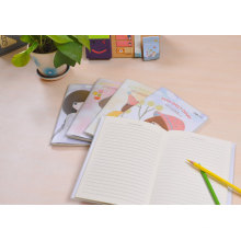Stationery Notebook with PVC Jacket Cover Diary Note Book
