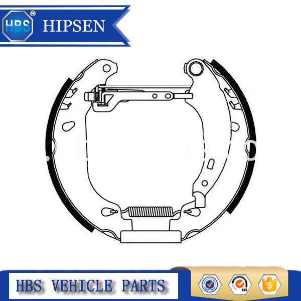 Automotive Parts Brake Shoes