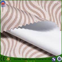 Tissu en polyester tissé Jacquad Blackout Tissu pour rideau pour l'ameublement