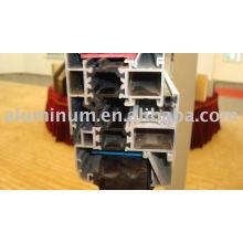 Thermal insulated aluminium profiles