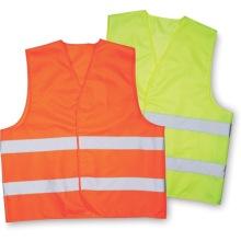 Cinta reflectante de chaleco de ropa de trabajo