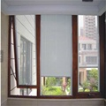 Aluminum Top Hung Window with Built-in Blind