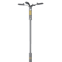 Poste de luz de calle solar LED