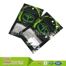 Diseño personalizado que imprime los bolsos de sellado de tres lados del plástico de empaquetado flexible del papel de aluminio con la cremallera