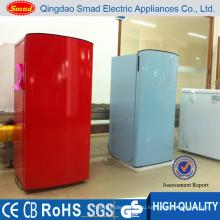 170Л прямого охлаждения внутреннего красного цвета холодильники