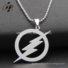Free design custom cheap blank the flash shape metal dog tags for wholesale