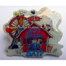Fairground Offset Printed Pin Customized