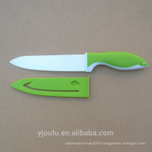 "6"" ceramic chef knife with sheath"