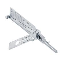 Original Lishi SC4-L lockpicks 6 Pin 2 in 1 Tool For Schlage
