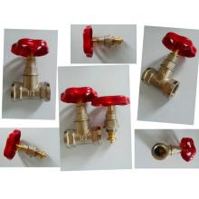 Válvula de compuerta de latón / Válvula de detención de latón (a 7016)