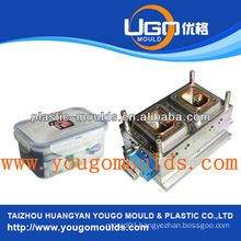2013 plastic injection box mould yougo mould food container moulds