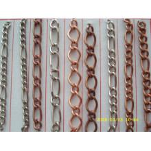 Fornecedor de porcelana cadeia de ferro barato material de ferro barato para keychain