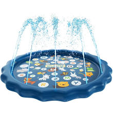 Wholesale PVC 170 cm Summer Outdoor Play Water Games Kids Inflatable Splash Pad