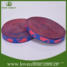 Fabrik Großhandel gewebte Webbings Custom Stoff Polyester Webbing