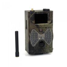 Appareil-photo mobile de chasse de scouting de 12mp 1080p GPRS MMS avec le flash noir
