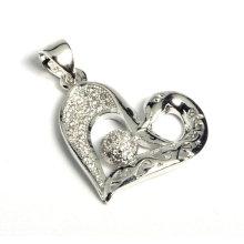 Pendentif bijoux en forme de bijoux en forme de chaud avec zircon cubique
