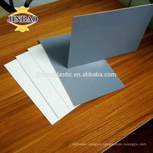 JINBAO grey ivory cheaper price 5 10 12 15 20mm hard rigid pvc sheet