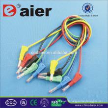 Colourful 2mm banana plug/solderless banana plugs