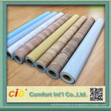 Revestimento de piso plástico do PVC da resistência da abrasão