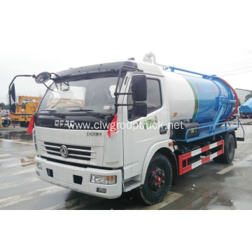 Dongfeng 156 hp 4x2 liquid sewage transport truck
