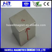 20*20*20mm Super cube neodymium magnet (ROHS)