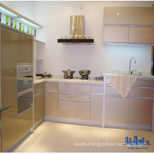 Pole L Shape Stainless Steel Kitchen Cabinet
