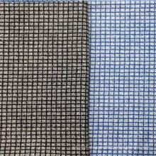 Plaid Print Baumwollgewebe für Blusen / Hosen