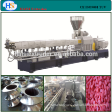 PP/PE+ Caco3 filler masterbatch co-rotating twin screw extruder price