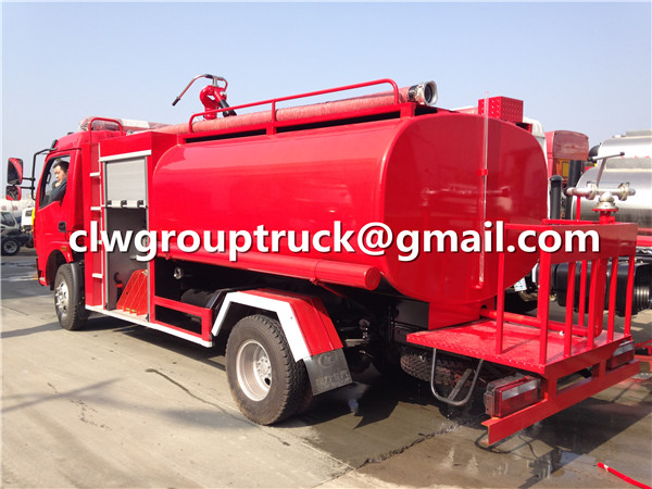 Fire Fighting Water Truck