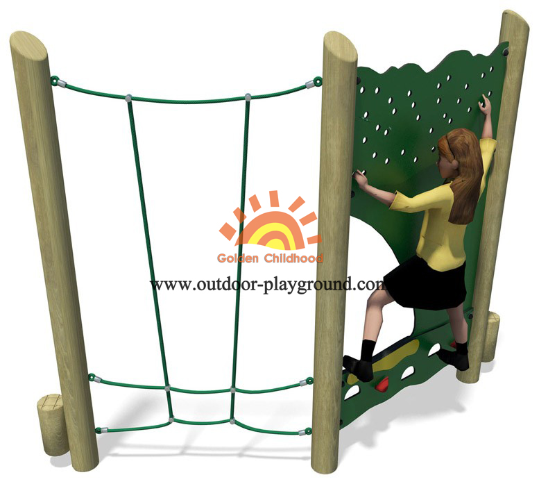 panel climber park playground structure