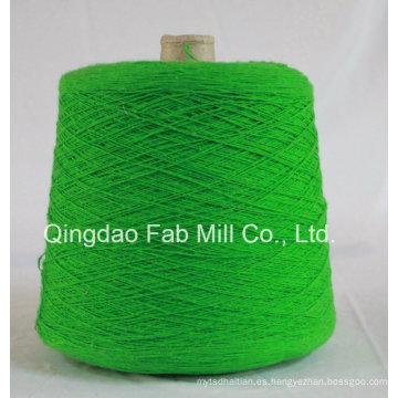 Hilados de teñido de cáñamo para el tejido de hebras o tejidos