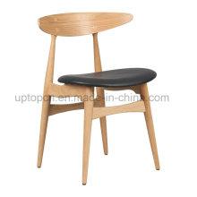 Античная Ханс Вегнер CH33 деревянный Обедая стул (СП-EC708)