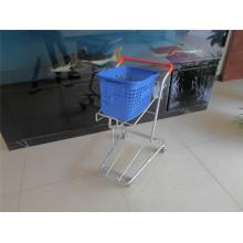 Supermarket Basket Cart, Metal Basket Trolley (YRD-J5)