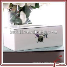 Бытовая керамическая коробка для лица