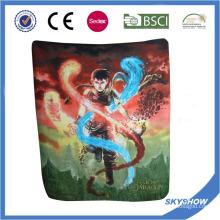 Anti Pilling manta del paño grueso y suave impreso (SSB0142)