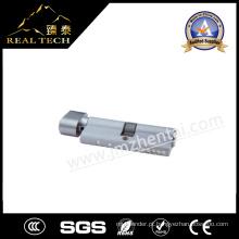 Cilindro de bloqueio de porta de bronze de 70mm para grosso